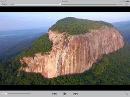 table rock mountain sc tallest cliff