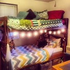 College Dorm Room Lots Of Great Ideas In This Room College - Dorm bunk bed