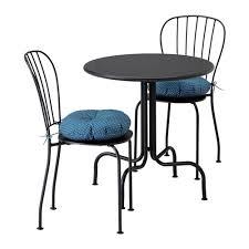sedia da giardino ikea l繖ck纐 tavolo 2 sedie da giardino l网ck羝 grigio ytter羝n ikea