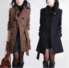 Long Trench Coats For Women Buy Button Women U0027s Trench Coats Online At Low Cost From Women U0027s