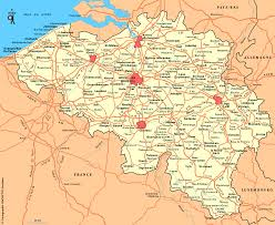 belguim map free belgium maps
