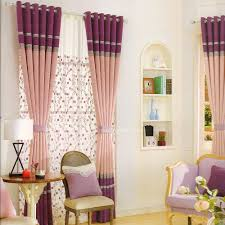Living Room Curtain Ideas by Interior Oversized Red Patterned And Brown Living Room Drapes For