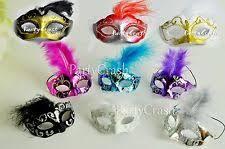 miniature mardi gras masks mardi gras decorations ebay
