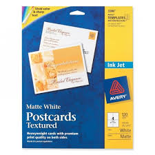 Avery 3380 Template avery 3380 textured post cards the office dealer