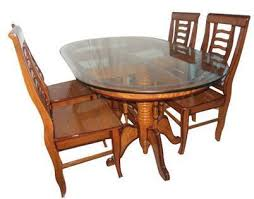 Teakwood Dining Table Teak Wood Dining Table Sets Wooden Furniture Santragachi