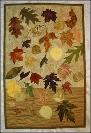 buy a custom made autumn free fall quilted wall hanging made to