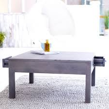 Grey Wood Coffee Table Endearing Grey Wood Coffee Tables On Home Interior Design Ideas