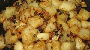 comment cuisiner le celeri poelé de céleri ail et persil choutambouilletout