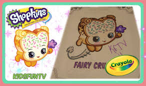 video for kids youtube kidsfuntv shopkins coloring book for kids speed color fairy crumbs