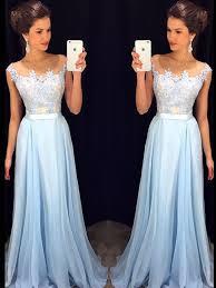 light blue formal dresses 139 99 long a line strapless chiffon blue prom dresses 2017
