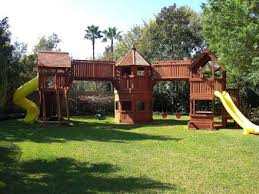 Best  Swing Sets Ideas On Pinterest Kids Swing Set Ideas - Backyard fort designs