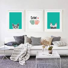 Cat Wall Furniture Cat Wall Art Promotion Shop For Promotional Cat Wall Art On