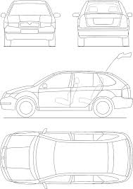 car plans file technical car blueprint png wikimedia commons