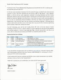 business sponsorship letter template 1000 ideas about fundraising letter on pinterest fundraising with best photos asking for donations template food donation sample letter ncdaf events natalie cribari drug awareness best photos asking for donations template