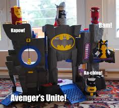 toilet paper tube superheroes