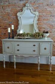 Painted Buffets And Sideboards by Coastal Vignette With Driftwood Shells And Starfish For Sources