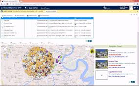 Microsoft Map Ms Dynamics Crm U0026 Google Maps Integration Microsoft Dynamics Crm