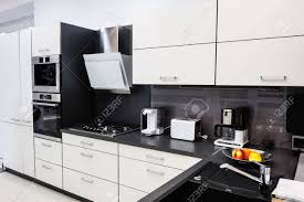 modern luxury kitchen modern luxury hi tek black and white kitchen interior clean