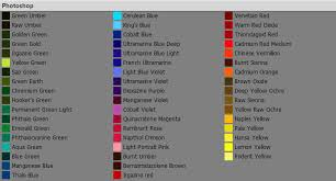 gee a priest real media paint swatches