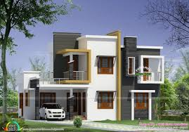 Modern Kerala Style House Plans with s Awesome Box Type