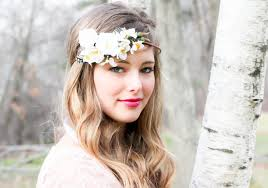 flower hair accessories wedding hair accessories white bridal hairpiece wedding headband