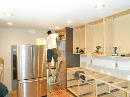cabinet kitchen cabinet installation how to install kitchen