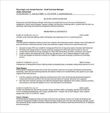 business resume format business resume template 11 free word