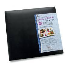 12 x 12 photo album darice 12 x 12 scrapbook album black