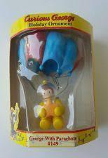 curious george ornament w sack 83 trevco monkey w