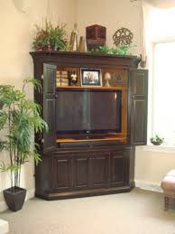 newest corner tv armoire for flat screens home decorating ideas