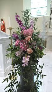 Arrangement Flowers by 36 Best Pedestal Images On Pinterest Pedestal Church Flowers