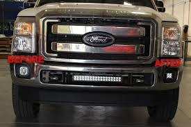 how to install aftermarket fog lights on a ford superduty