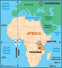 Map Of Tanzania Africa by Travelling With Steve And Marlene Tanzania In The Wilds Of Africa