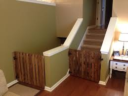 Baby Proof Kitchen Cabinets Best 25 Baby Gate With Door Ideas On Pinterest Wooden Stair