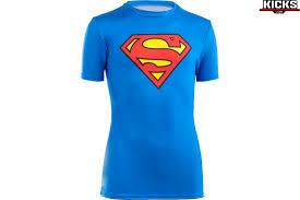 Under Armour Kids Clothes T Shirt Kids Under Armour Alter Ego Superman Junior 1244392 401