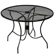 42 Patio Table Metal Patio Tables For Metal Outdoor Dining Table 42
