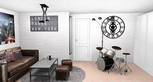 chambre ado stylé chambre ado vintage fashion designs deco scandinave fille garcon