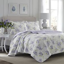 Lilac Bedding Sets Quilt Set Keighley Lilac Cotton Bedding Set Lilac