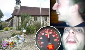 horror footage of 90mph car crash which the families of young