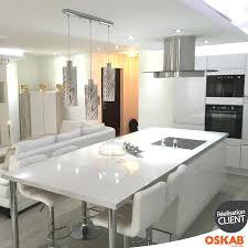 bloc central cuisine cuisine blanc laque avec ilot central cuisine blanc laquee avec ilot