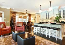 living room and kitchen color ideas living room dining kitchen color schemes thecreativescientist com