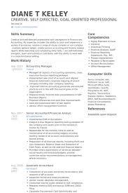 English Resume Sample by Unthinkable Accounting Manager Resume 1 Senior Accounting Manager