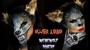 Werewolf Halloween Makeup by Mujer Lobo Maquillaje Werewolf Makeup Halloween Auroramakeup