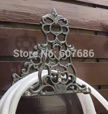 cast iron water hose holder metal 2 duck wall mounted hose hanger