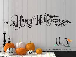 halloween bat wall decals halloween