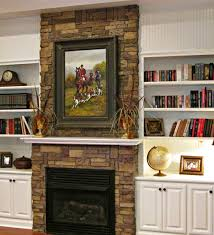 refacing a fireplace with airstone blog entry from 1800 farmhouse