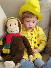 Halloween Costumes George 3 Piece Vintage Sock Monkey Family Lady Monkey Yellow Dress