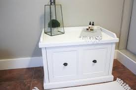 Laundry Room Hamper Cabinet by Laundry Hamper Bench Buildsomething Com