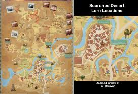 Agartha Map The Secret World Lore Locations In Scorched Desert Unfair Co