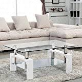 White Wood Coffee Table White Coffee Tables Tables Home Kitchen
